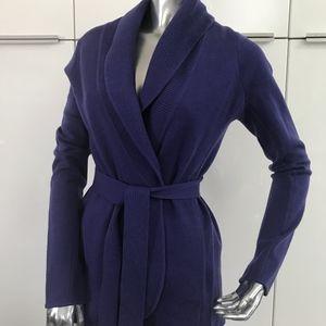 BCBGMaxAzria purple cardigan XS